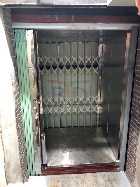 Lắp đặt cabin thang máy tải hàng 300kg tại tôn Hòa Phát
