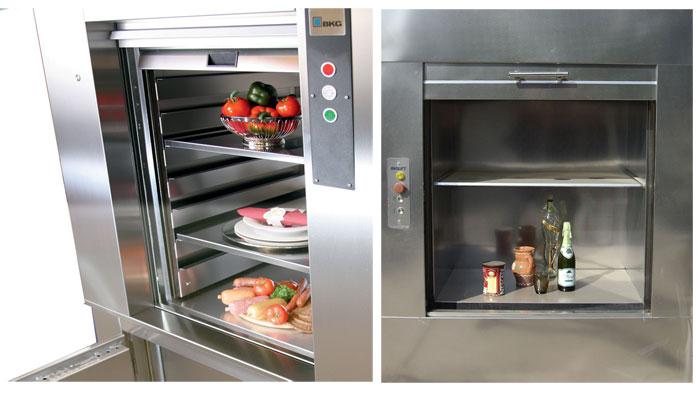 Cabin chứa đồ ăn thang máy tải thực phẩm