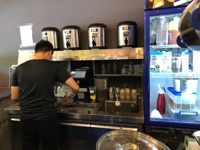 Hệ thống quầy trà sữa Cotoco