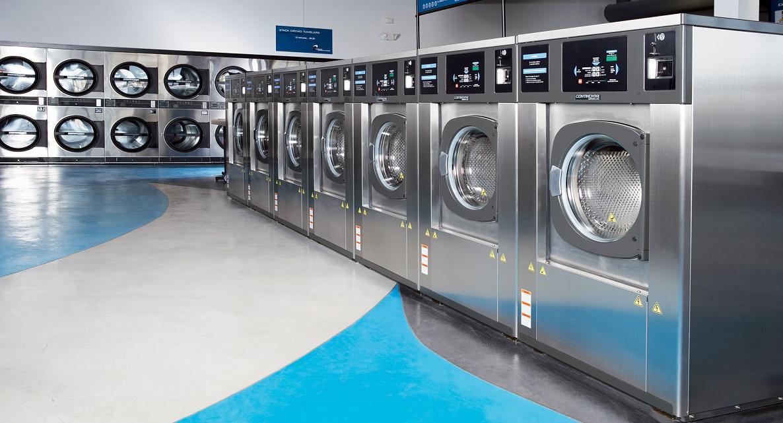 Hệ thống thiết bị giặt là công nghiệp