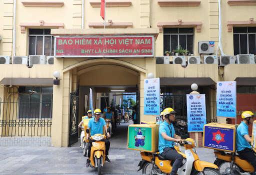 Lắp đặt bếp ăn công nghiệp tại Bảo Hiểm Xã Hội Việt Nam