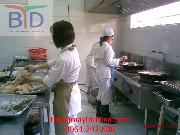 Thiết bị bếp trường học- nên và không nên trong thiết kế
