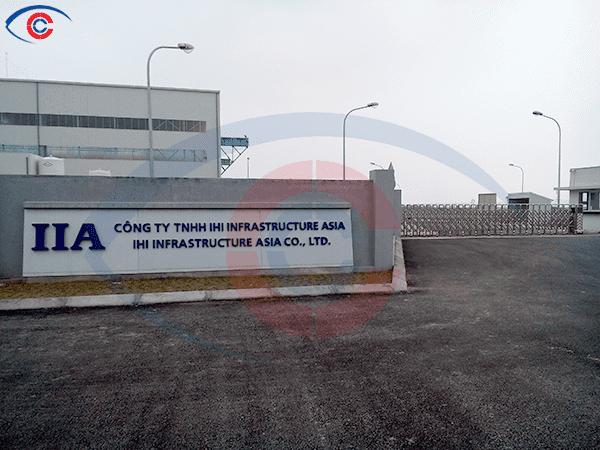 Lắp đặt bếp công nghiệp 1000 suất ăn nhà máy IIA