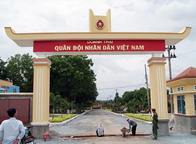 Thang tải thực phẩm an toàn nhất lắp dựng cho doanh trại quân đội nhân dân Việt nam
