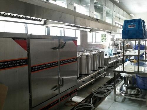 Vận hành khu bếp công nghiệp an toàn cần chú ý điều gì?