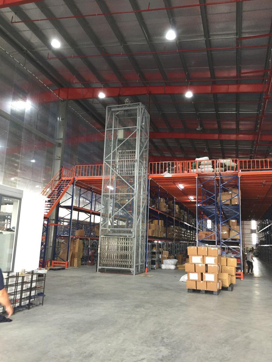 Thang máy tải hàng 500 kg tại Hải Phòng