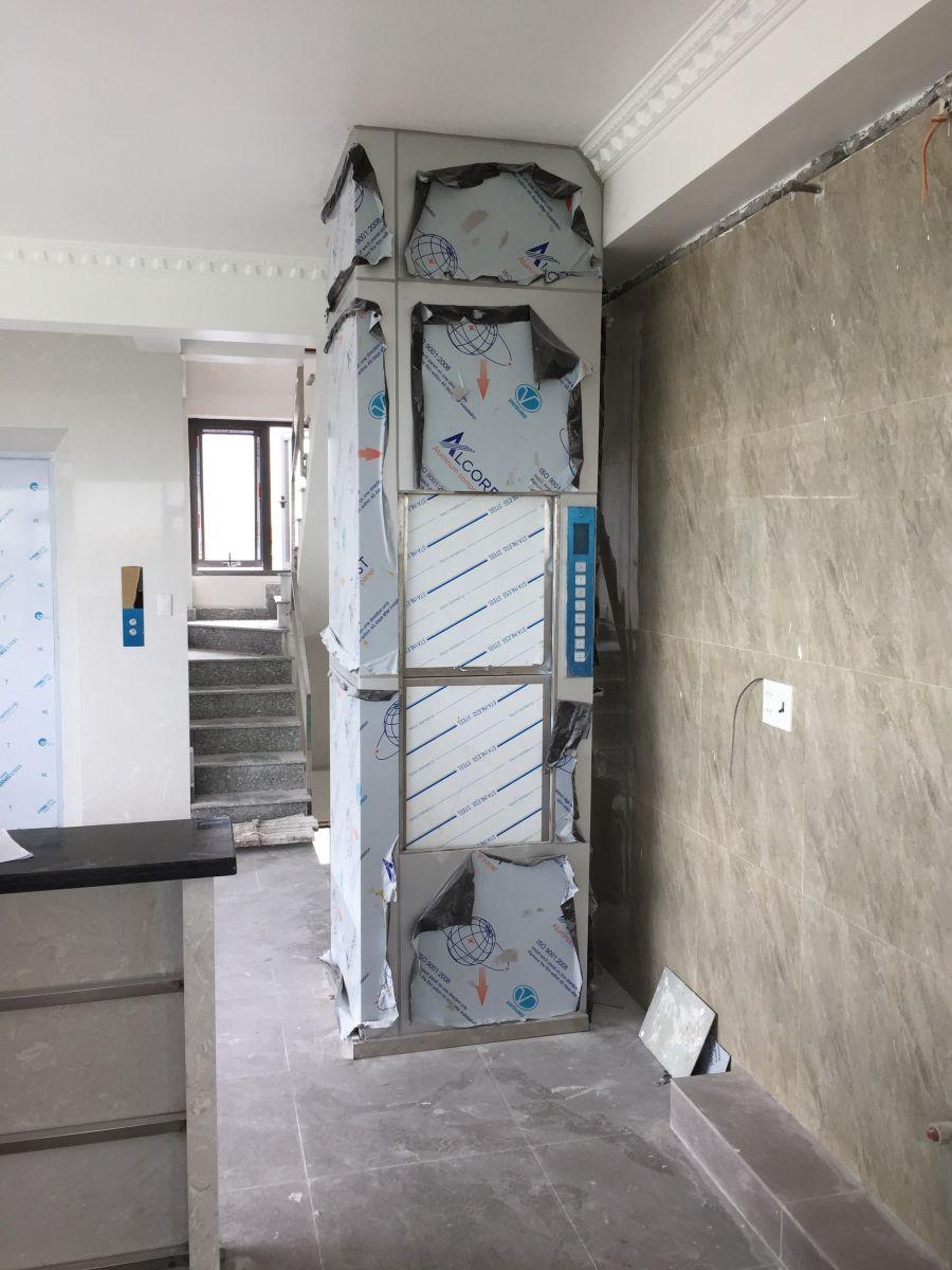 Thang máy tời thực phẩm 250 kg giá tốt nhất tại Hưng Yên