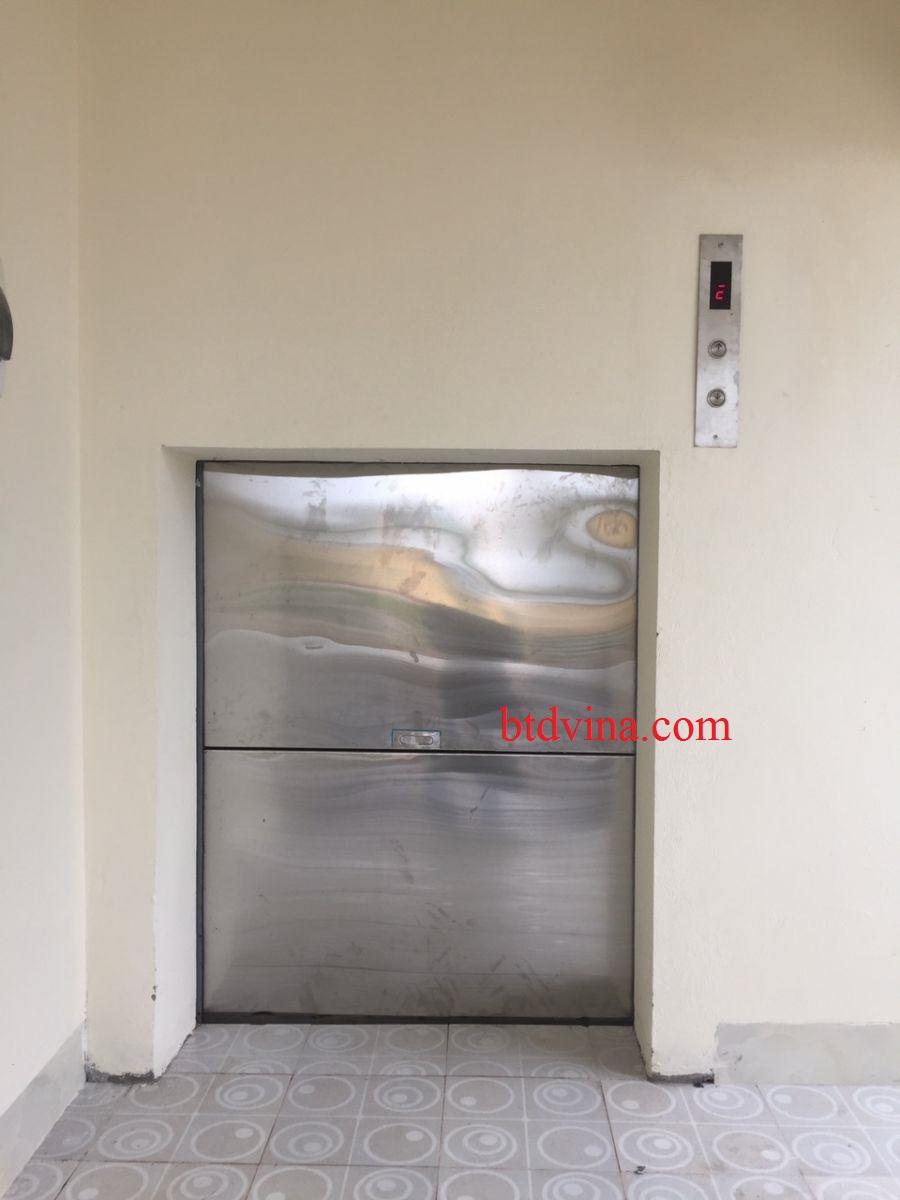 Thang máy tời thực phẩm 300kg tại Hà Nội