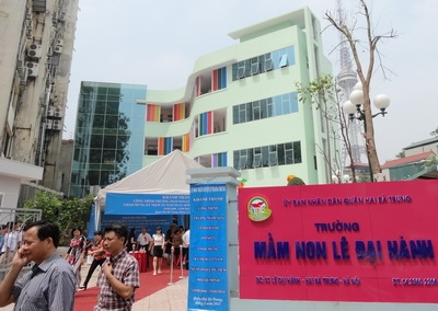Áp dụng mô hình bếp công nghiệp đối với các trường mầm non tại Hà Nội