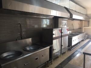 Khu bếp công nghiệp dùng điện