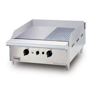 bếp chiên nửa nhám nửa phẳng dùng gas