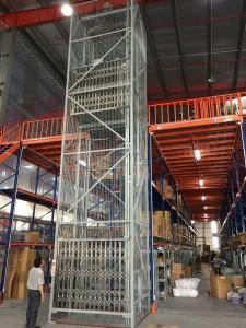 Lắp đặt thang tải hàng 500kg