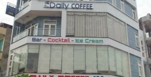 Thi công lắp đặt khu quầy barcho quán cafe tại Hải Dương
