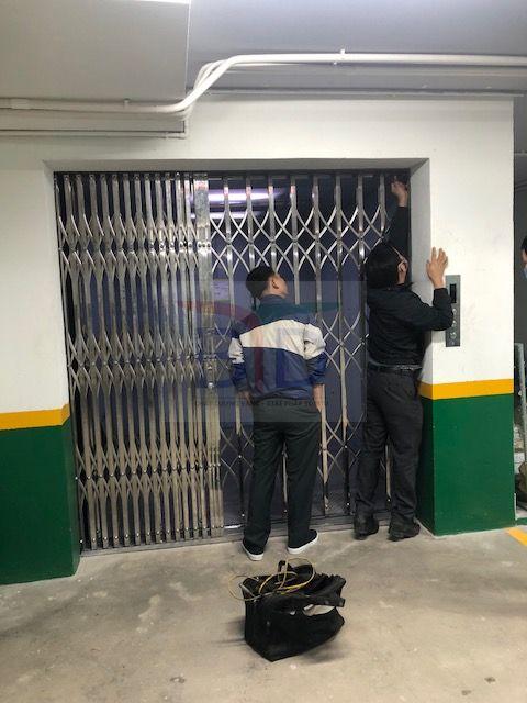 Lắp thang máy tải hàng 3000 kg- 03 stop tại công ty May Minh Tâm