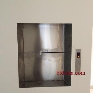 Thang máy tời thực phẩm 100kg tại Hà Nội