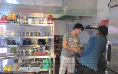 Khu bếp công nghiệp hoàn hảo cho nhà hàng đồ ăn chay tại Hà Nội