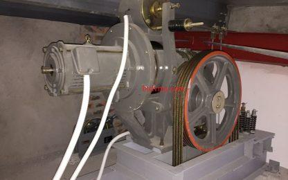 Lắp đặt thang máy tải hàng 1000kg- 2 stops cho nhà máy may Canifa