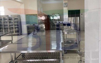Lắp đặt hệ thống bếp công nghiệp tại trường mầm non Hải Bối