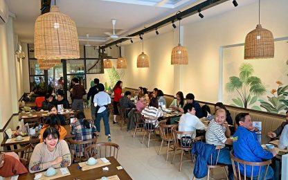 Lắp đặt thang tời thực phẩm 150kg tại nhà hàng cơm vịt Triều Châu