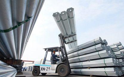Lắp đặt thang máy tải hàng 300 kg 2 stop tại nhà máy tôn Hòa Phát