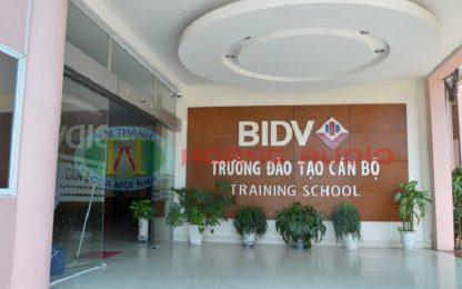 Hệ thống thiết bị khu bếp công nghiệp_ Trường đào tao cán bộ BIDV