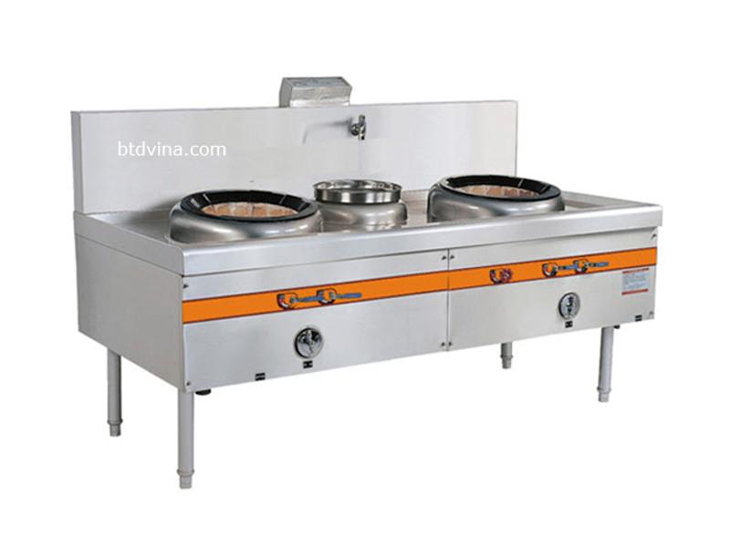 Bếp Á được sử dụng để nấu với ố lượng lớn các suất ăn